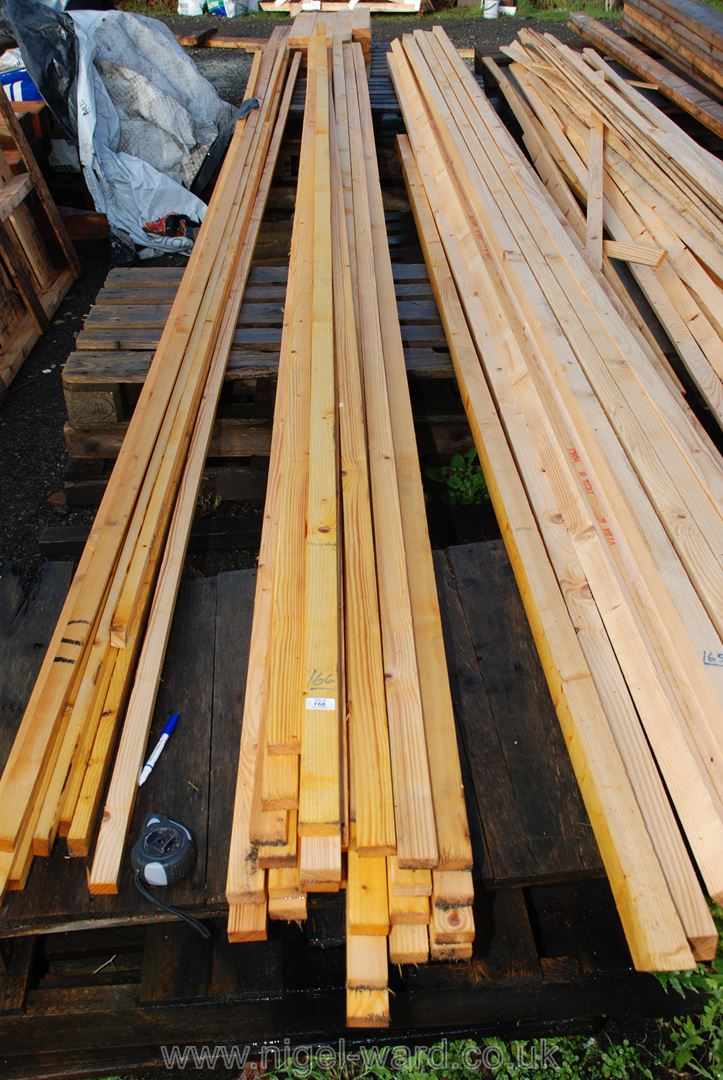 30 lengths batten 2'' x 1'' x 18' long.