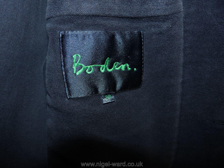 A gent's Boden navy moleskin Jacket, - Image 2 of 2