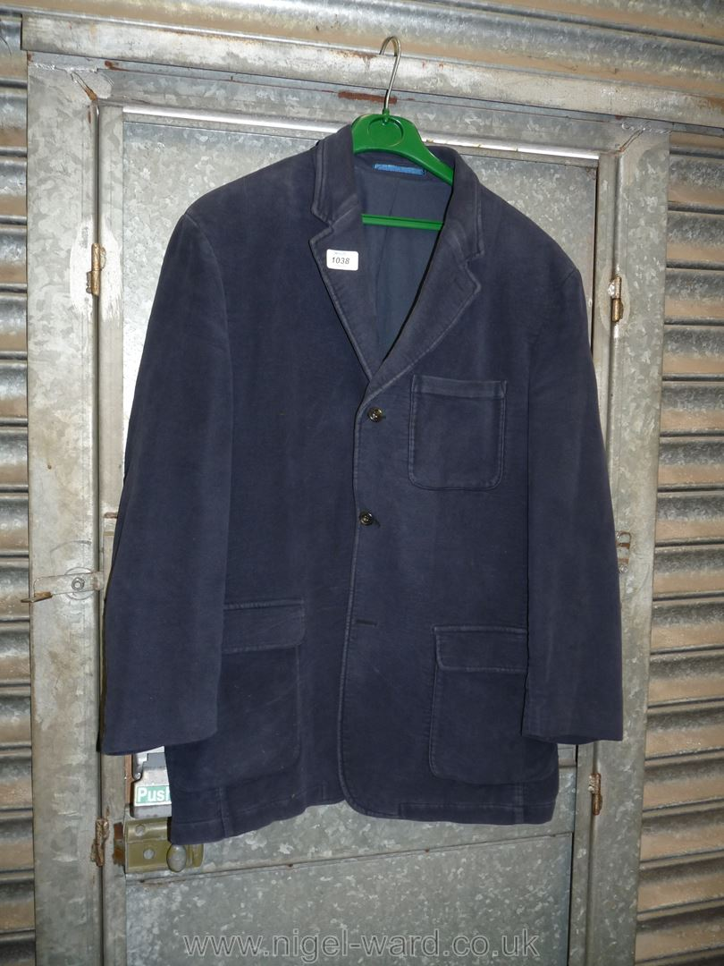 A gent's Boden navy moleskin Jacket,
