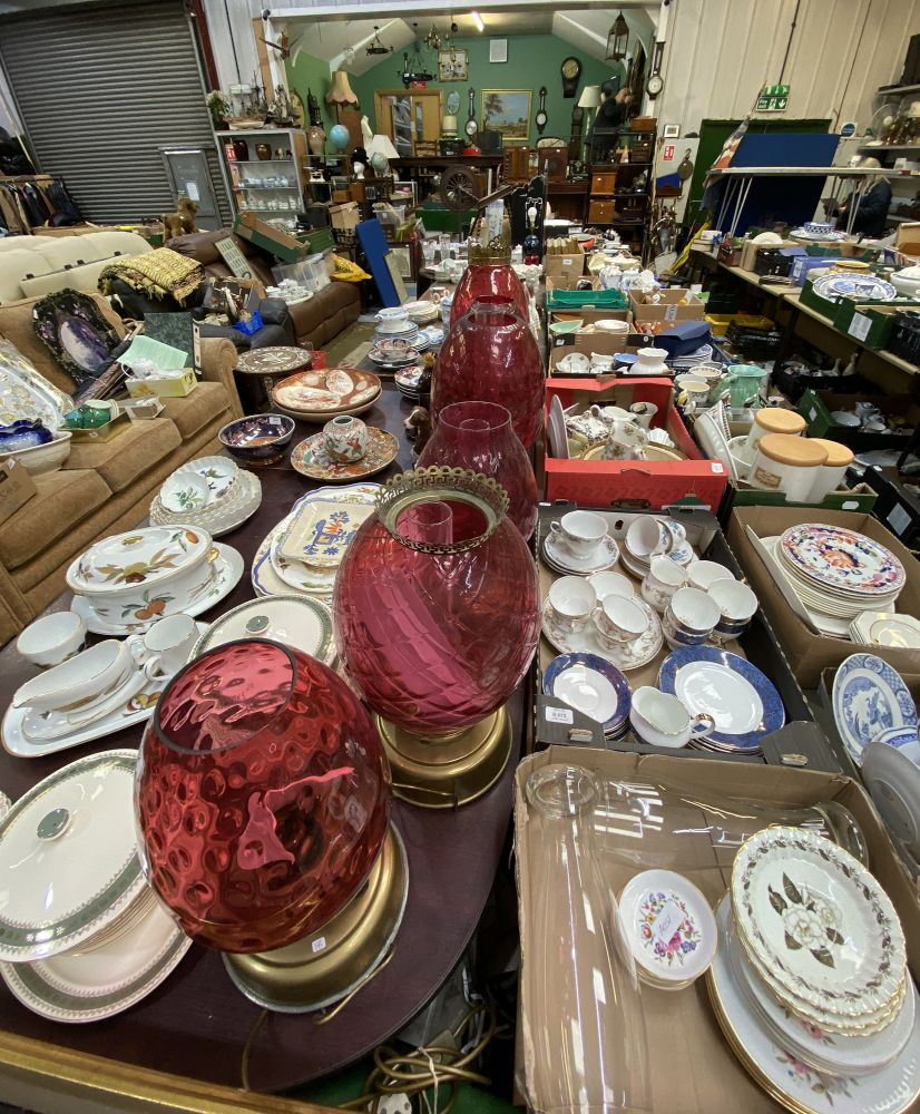 Online Only April-May Auction of Miscellaneous Objets d'Art, Collectables, Porcelain, Glass, Antique & Country Furniture