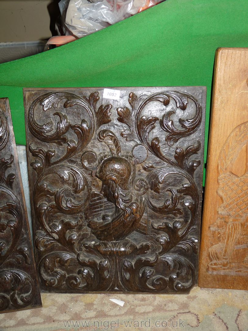 An impressive pair of 17th c. - Image 2 of 4