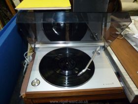 A Bang and Olufsen record deck Beogram 3000,