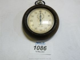 An old Smiths Stop Watch in rubber case.