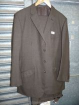 A Corradden glow, Rotherham, brown tweed suit, size L.