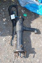 A cast iron water Pump, 27''.