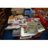 A large quantity of miscellaneous books including birds, gardens, motorcycles, etc.