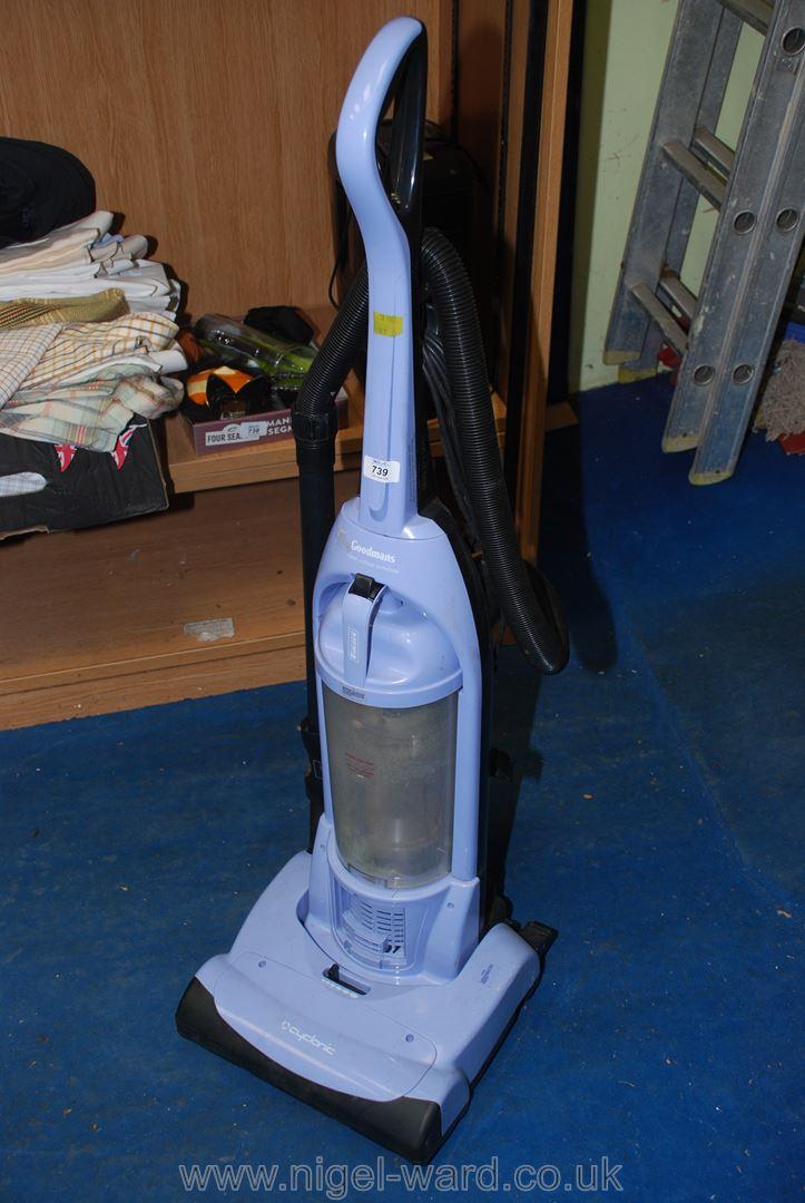 A Goodmans upright vacuum cleaner.