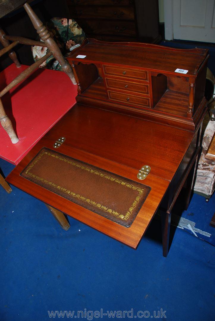 A modern writing table.