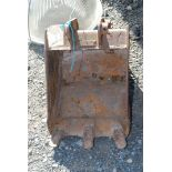 A digger Trenching Bucket, 12''.