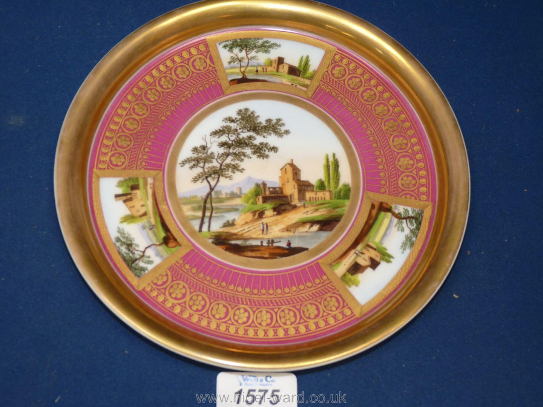 A good Paris porcelain stand circa 1820,