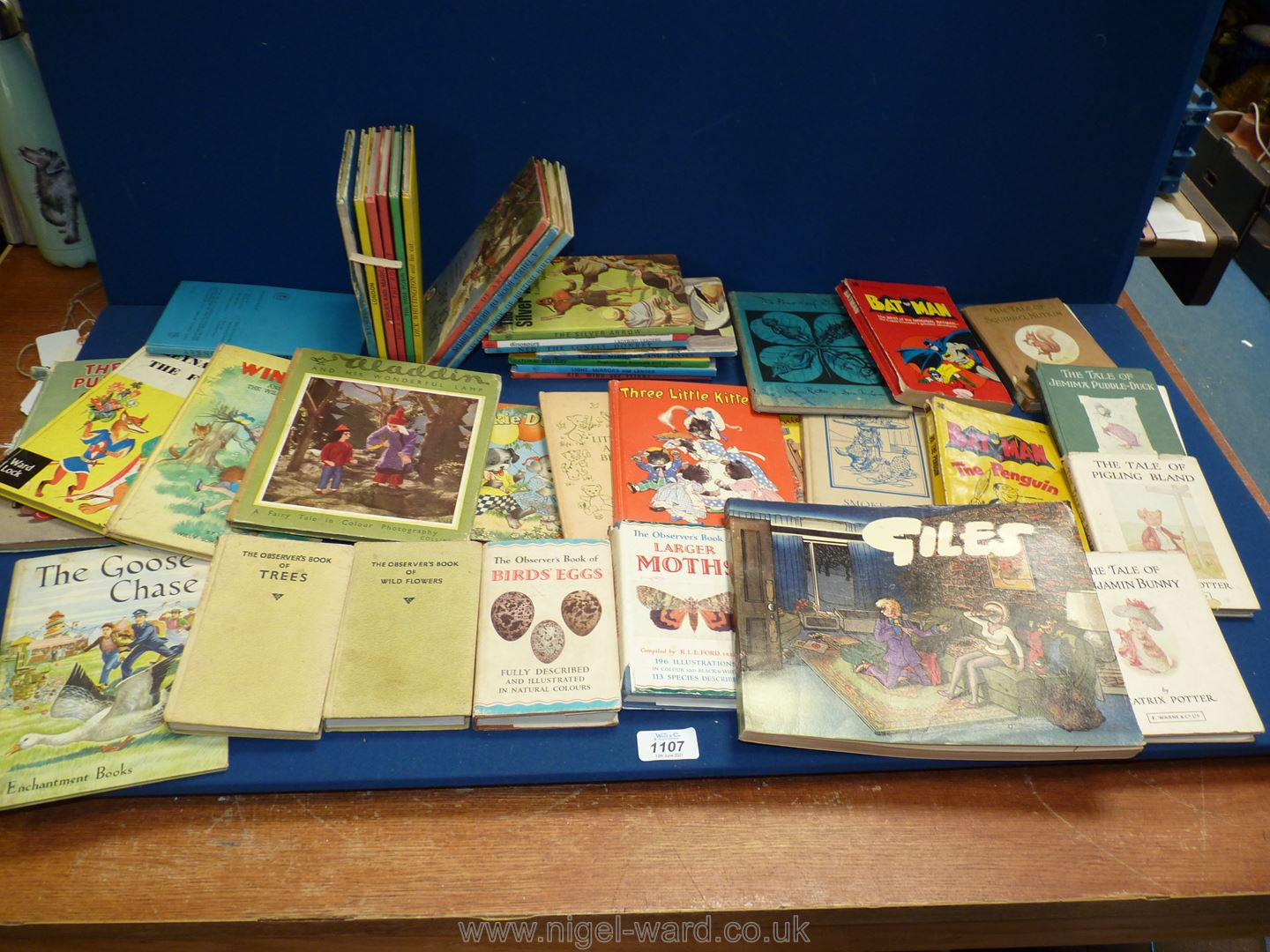 Sixteen Ladybird Books to include Ned The Lonely Donkey, Tricks & Magic, Silver Arrow,