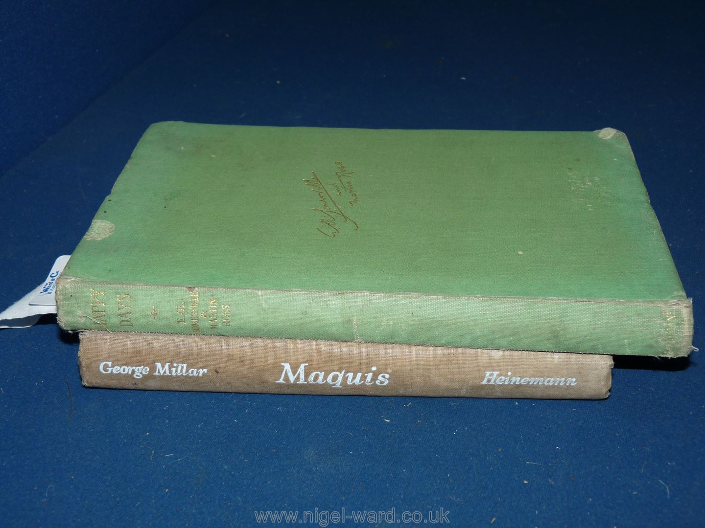 Two 1940's First Editions: 'Maquis' by George Millar pub 1945 by William Heinmann; - Image 2 of 7