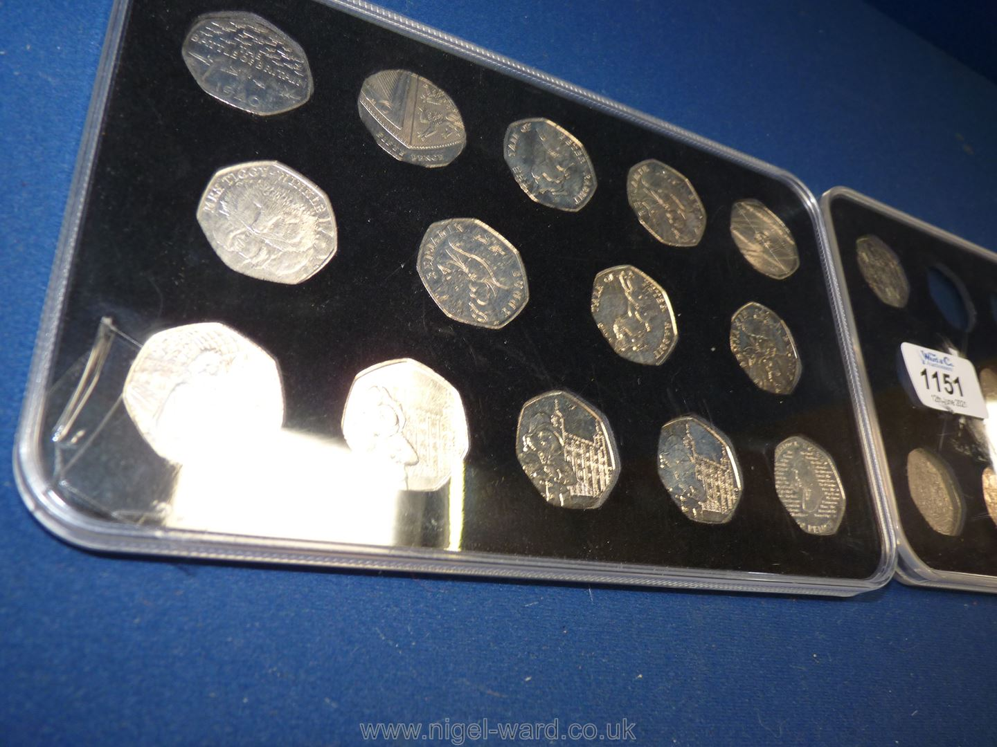 One full and one part case of 50 pence pieces including Olympics Peter Rabbit, Paddington Bear, - Image 2 of 3