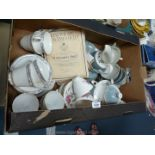 A quantity of china including two Royal Doulton part teasets:'Rose Elegance' and 'Arlington' etc.