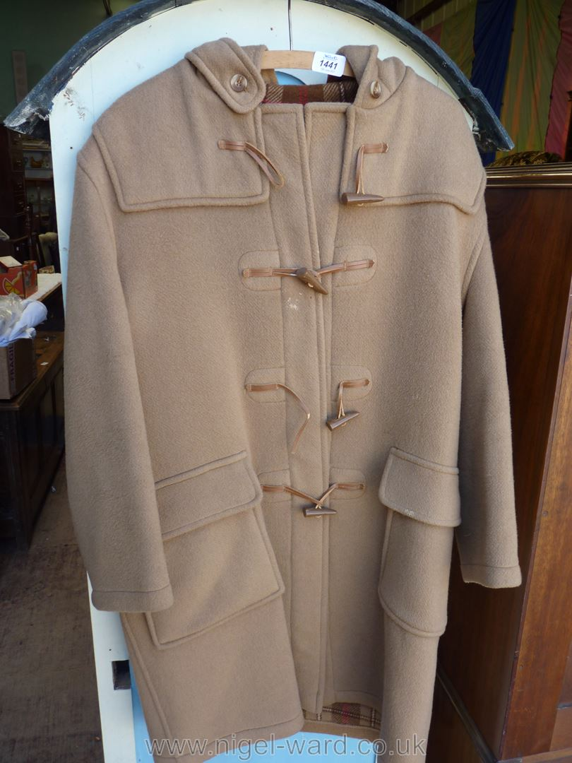 An origiinal camel duffle coat by Gloverall. - Image 3 of 3