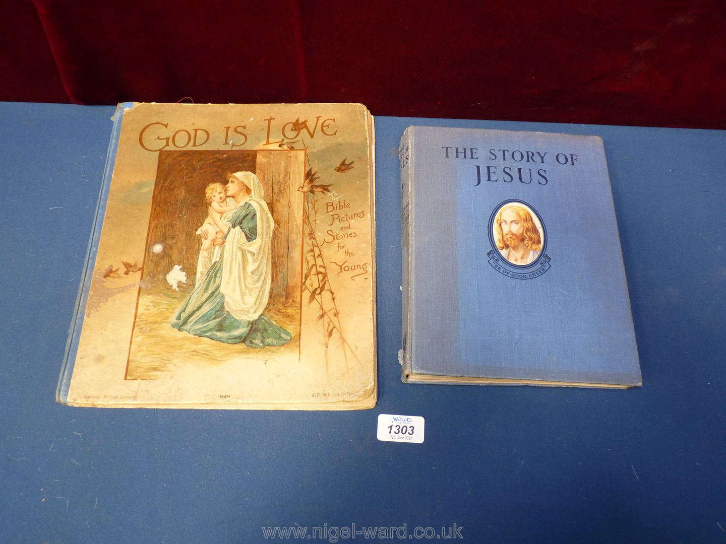 The Story of Jesus and God is Love pop up book.