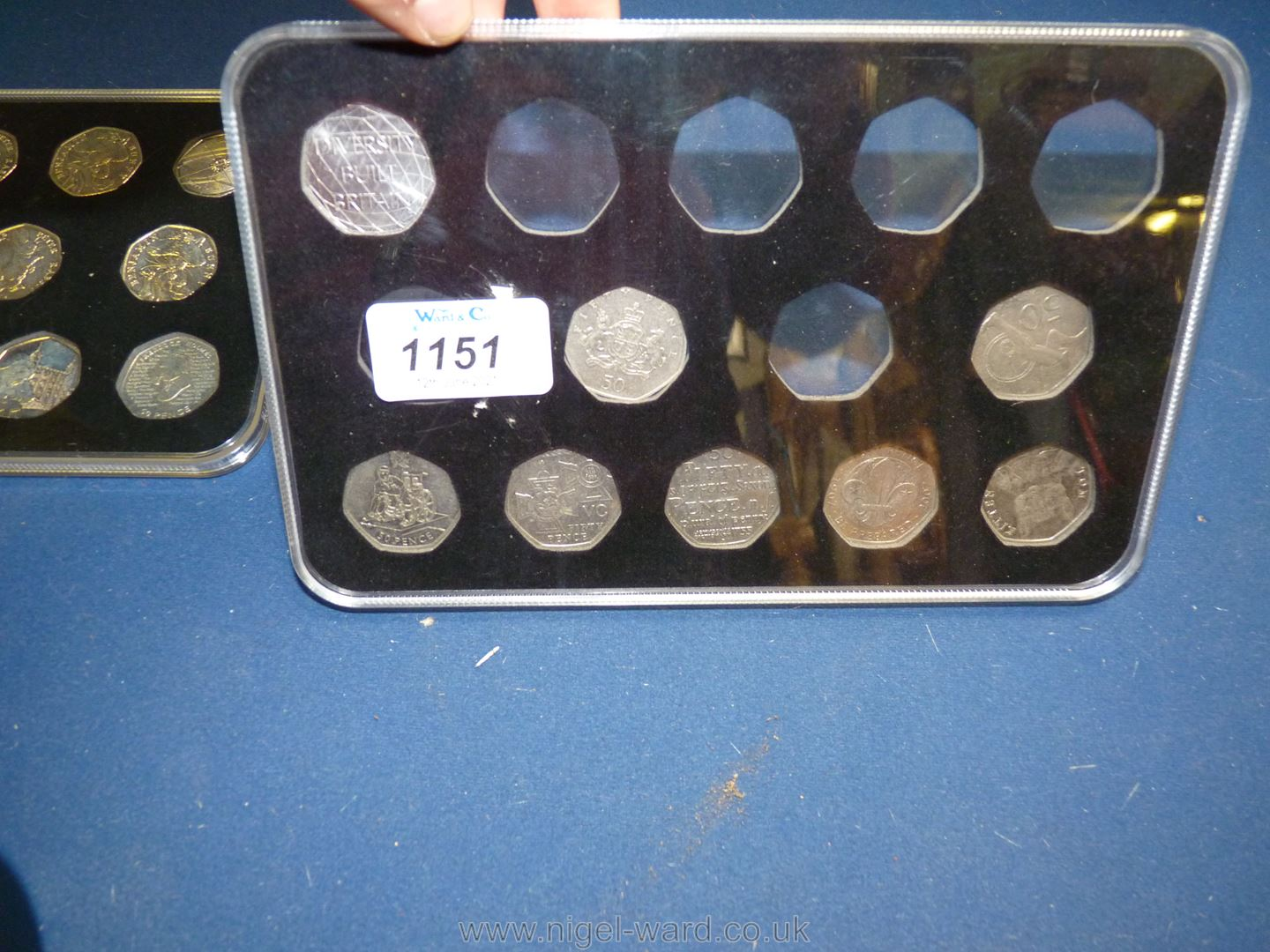 One full and one part case of 50 pence pieces including Olympics Peter Rabbit, Paddington Bear, - Image 3 of 3