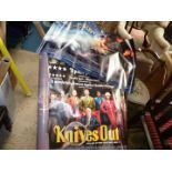A quantity of movie Posters including Captain Philips, Crown, Downton Abbey, Boys are Back,