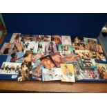 A quantity of Spice Girls photoshoot Postcards, (approx 30), some damaged.