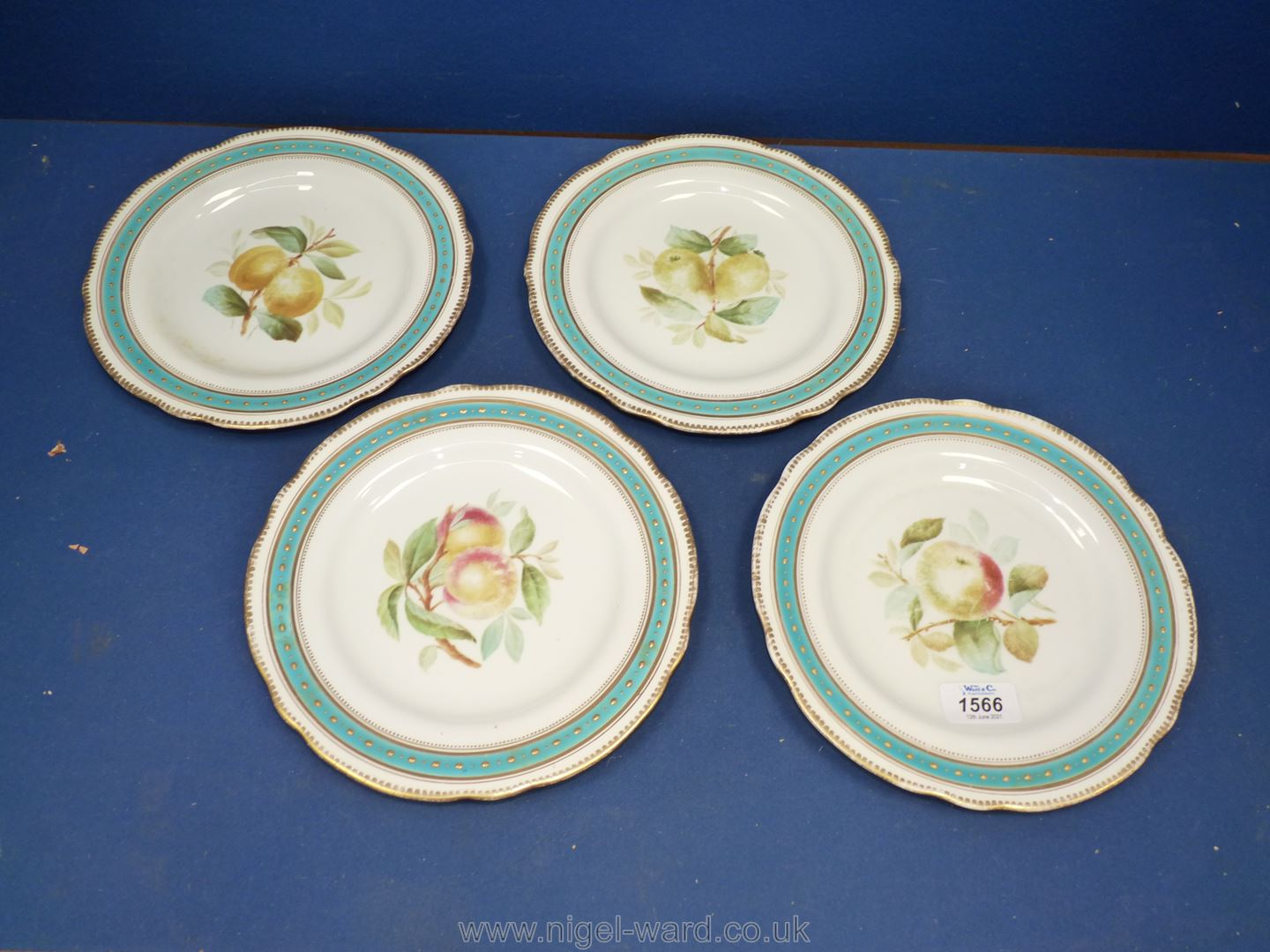 A set of four 19th c.