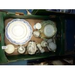 A quantity of china including Adderley ware saucers, cup, side plates and bread and butter plate,