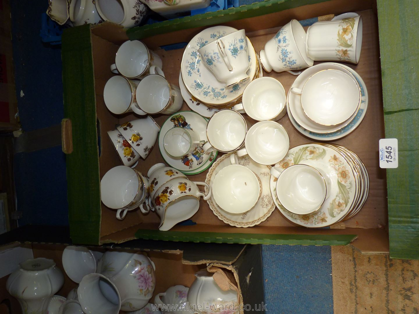 A quantity of part teasets to include Colclough china, Duchess Greensleeves,
