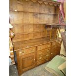 A contemporary high quality Oak North Wales type Dresser,