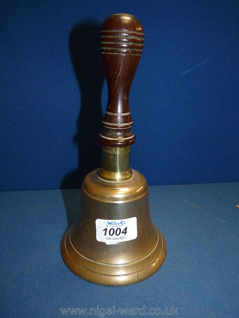 A Brass school Bell.