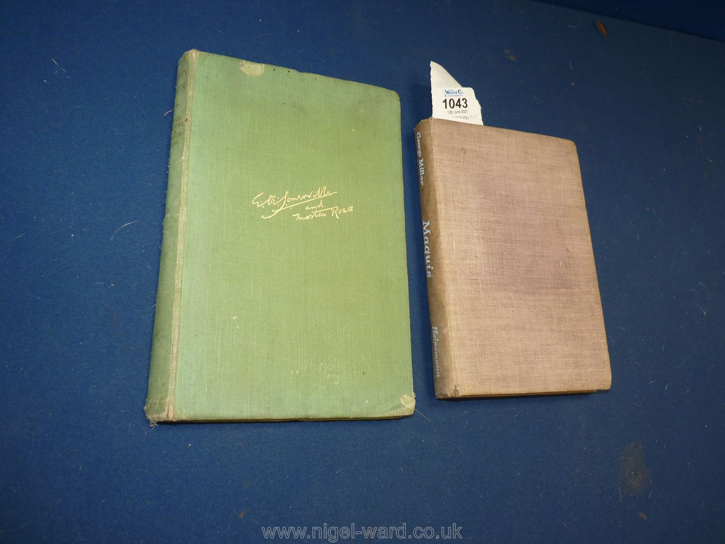 Two 1940's First Editions: 'Maquis' by George Millar pub 1945 by William Heinmann; - Image 7 of 7