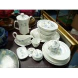 A good quantity of Wedgwood 'Ice Rose' china including dinner and side plates, tureens,