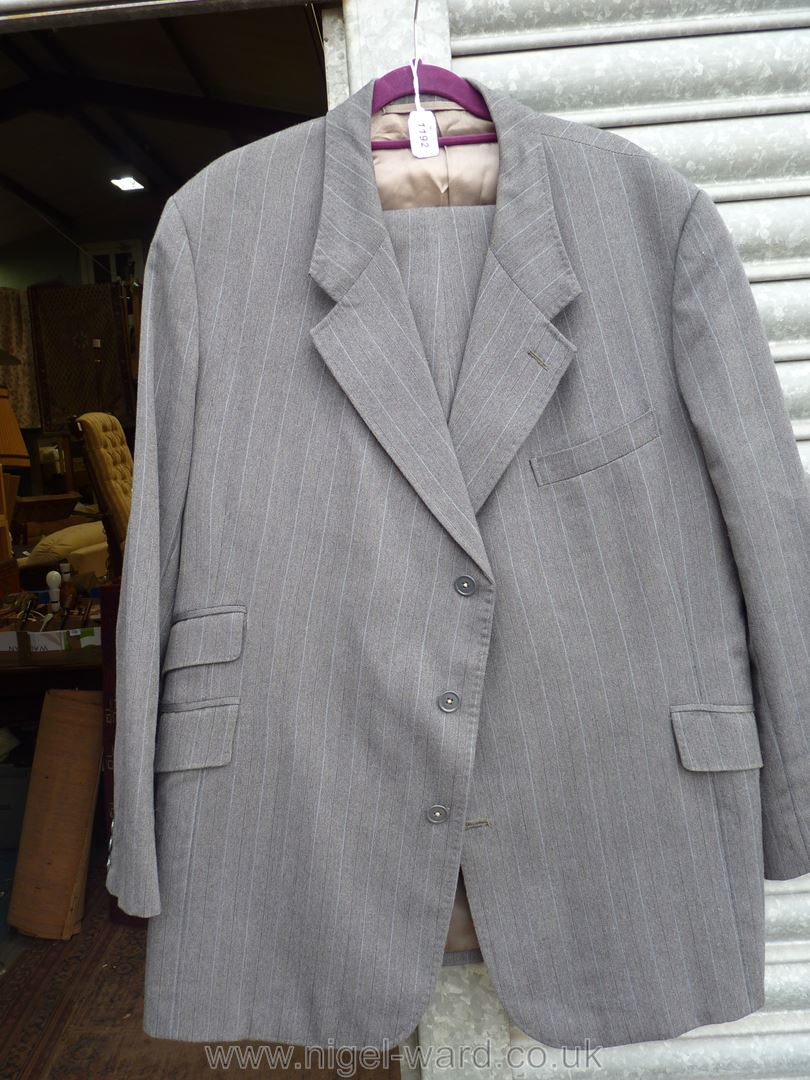 A gent's grey Suit by A.