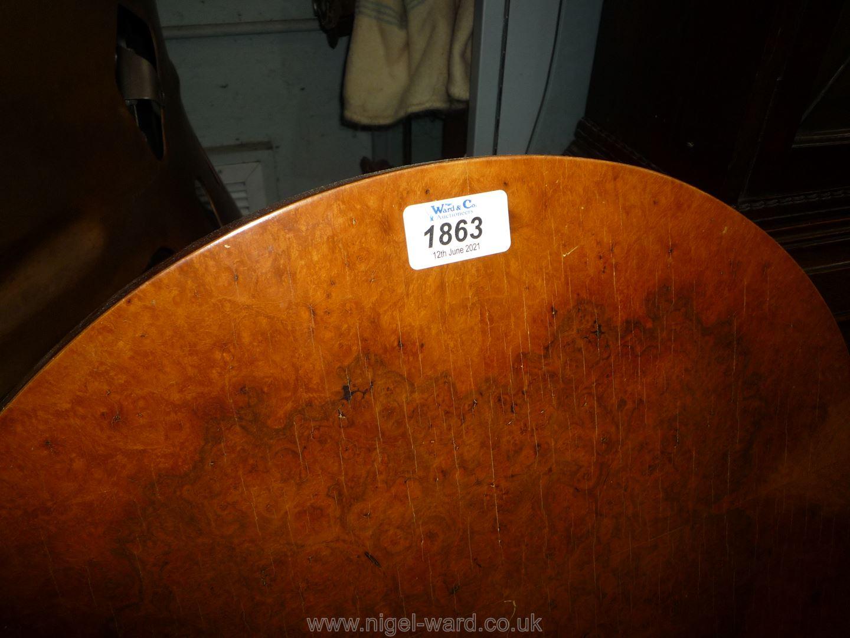 A pair of mirrored veneered 3' single Bed Headboards. - Image 2 of 2