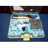 A Space Shuttle Playset in carry case.
