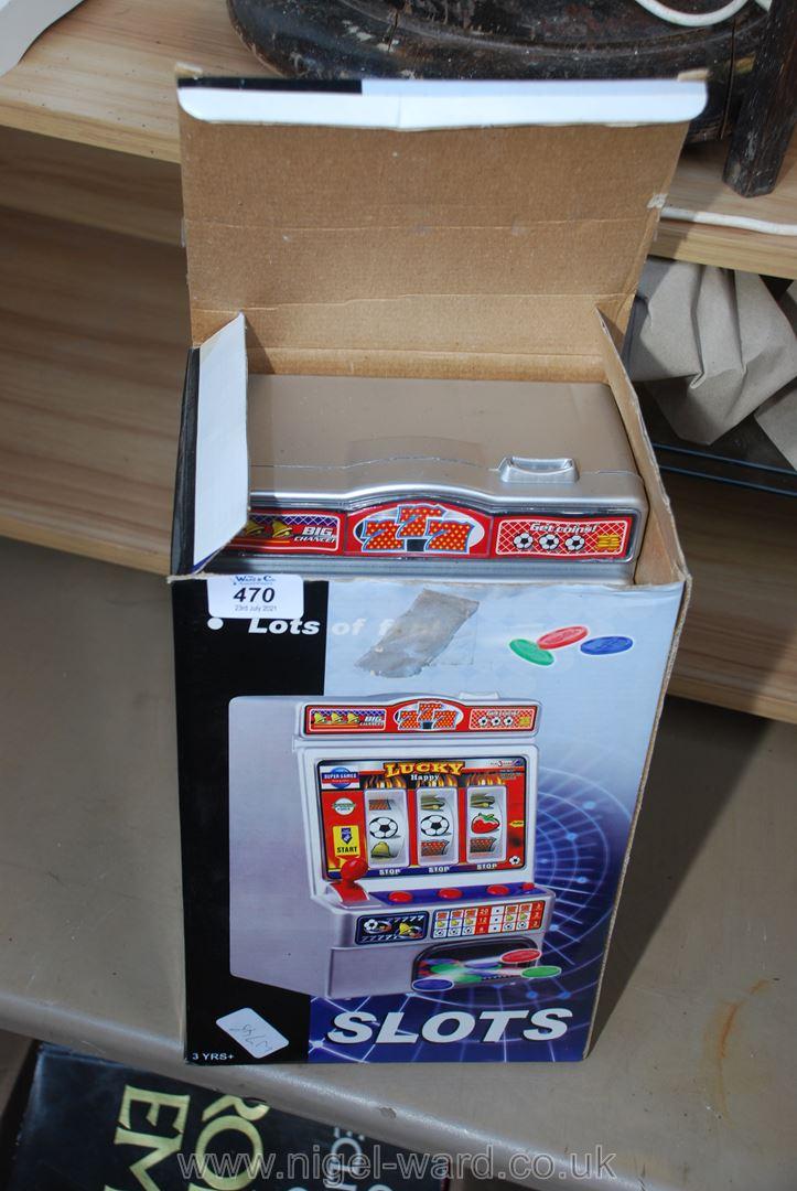 Boxed Super Slot machine
