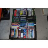 Two boxes of DVD's including Lewis, New tricks,