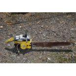 McCulloch Mac 4-10 chainsaw, for spares or repair.