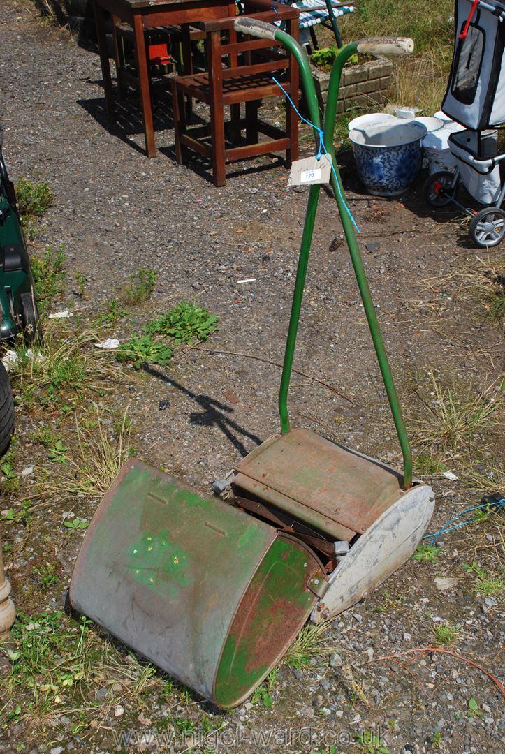 Garden push mower