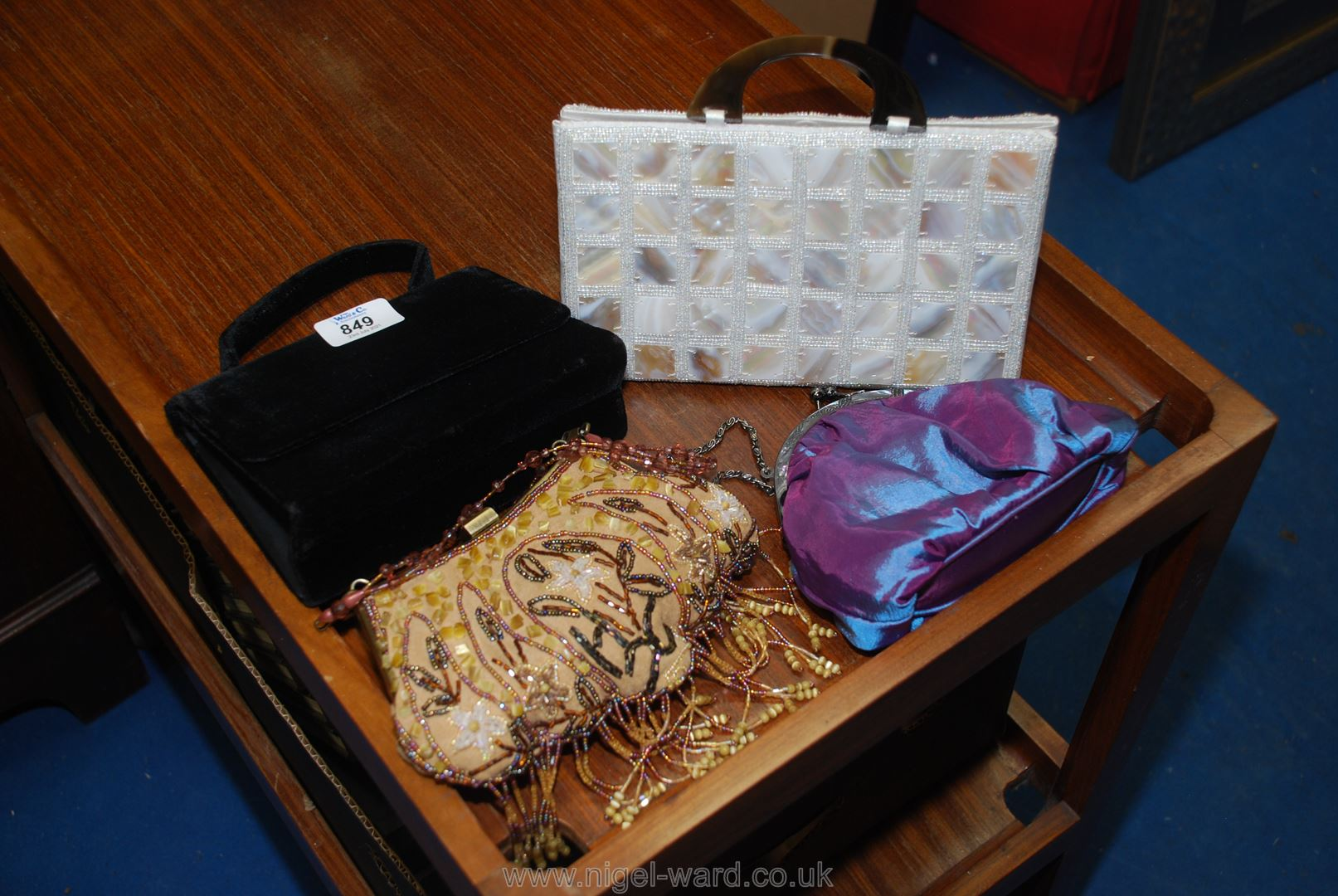 Four evening bags