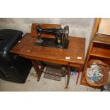 A Singer Treadle Sewing machine, serial no.