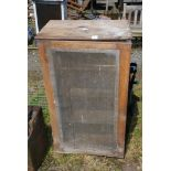 Old meat safe with shelves, a/f.