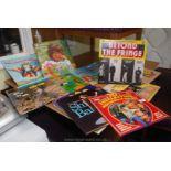 Quantity of LP's for children,
