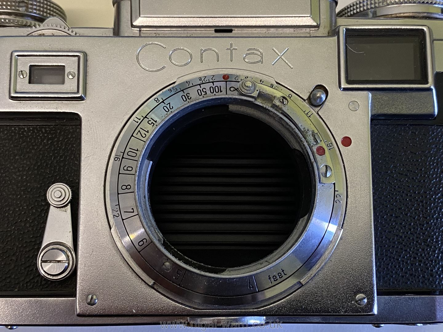 A Circa 1950's - 60's Zeiss Ikon Stuttgart Contax IIIa 35mm Range Finder Camera with a Carl Zeiss - Image 11 of 18