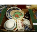 A quantity of china including Wedgwood butter dish for Wiggins Teape Paper Group,