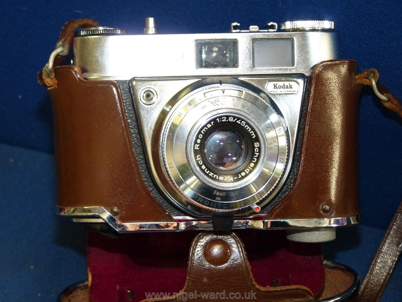 Two Kodak Retinette 1a 35mm Cameras both having Schneider-Kreuznach Reomar 45mm f/2. - Image 3 of 3