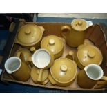 A quantity of Denby Ode tableware.