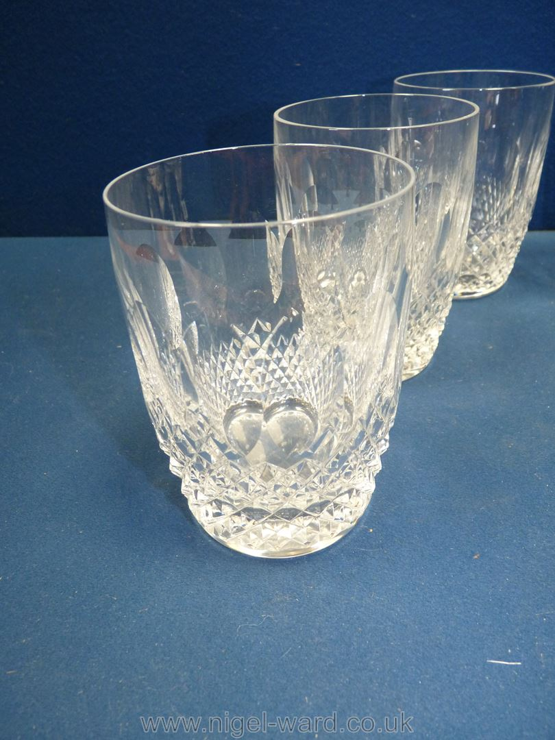 Six Waterford 'Colleen' water glasses, - Image 2 of 3