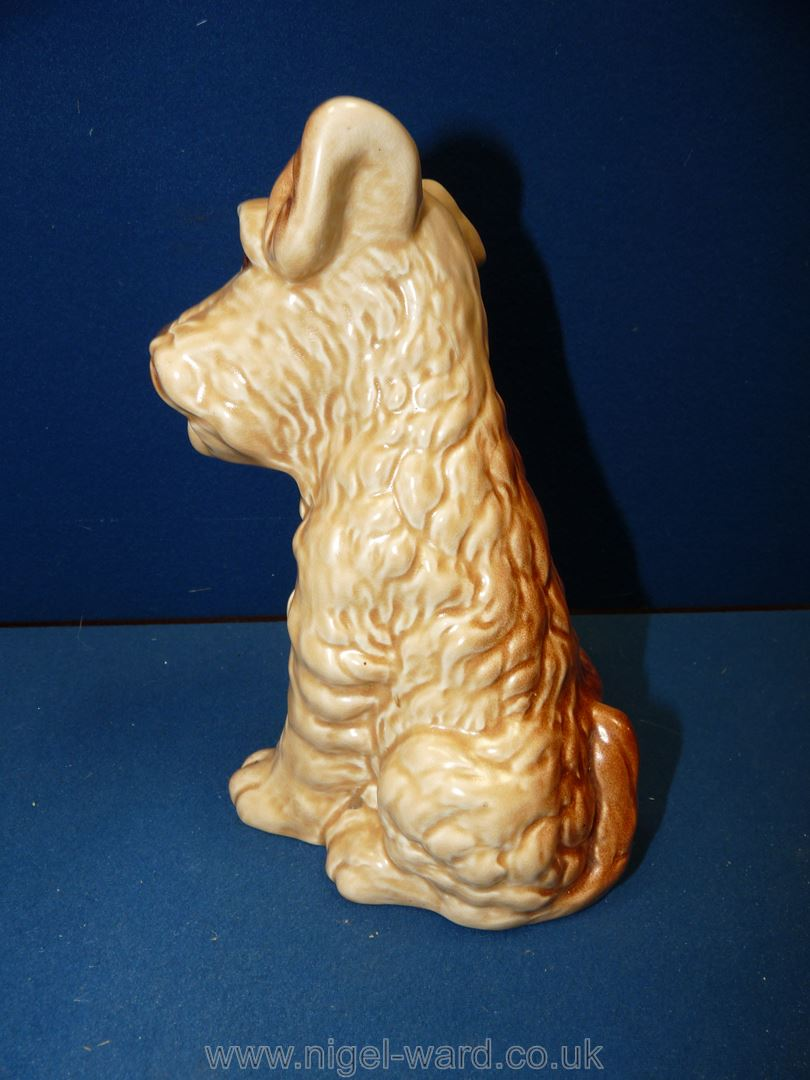 A Sylvac Terrier figure, 8'' tall, no. - Image 2 of 2