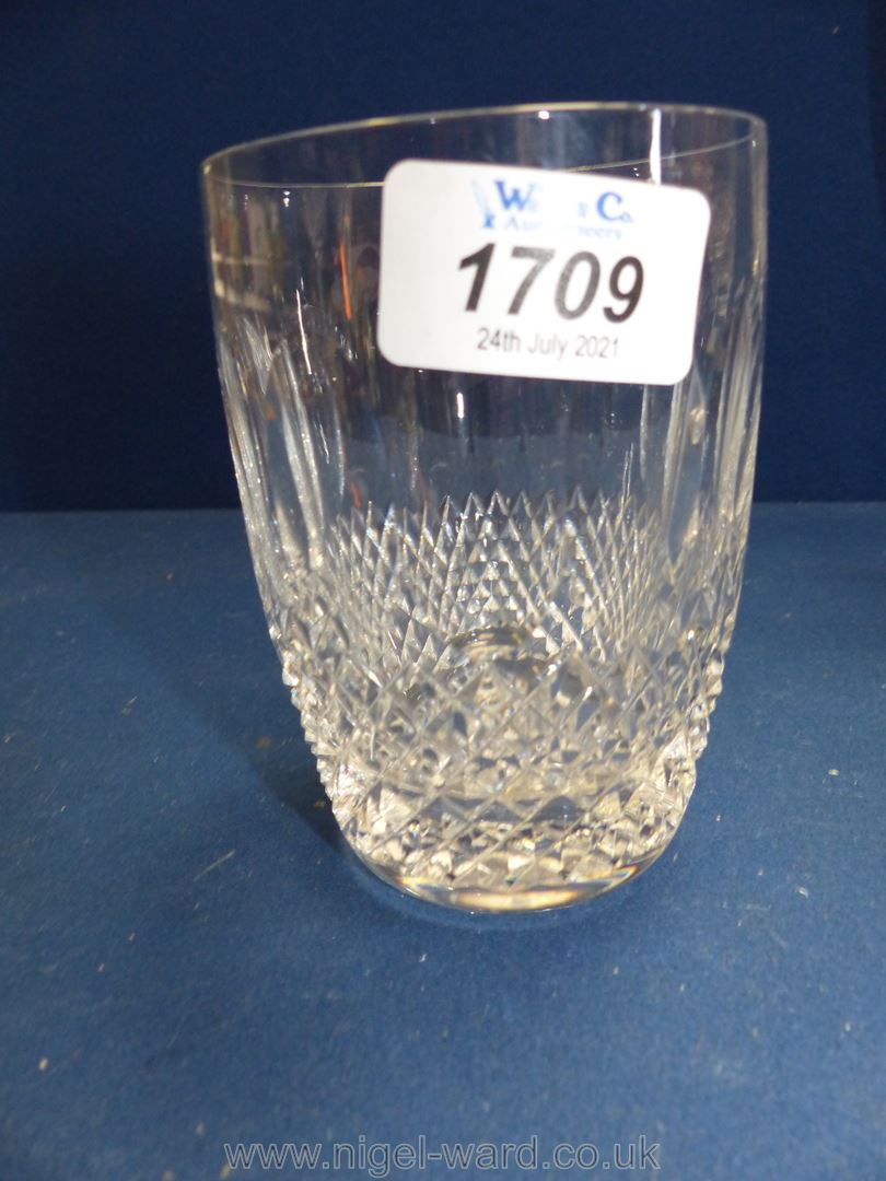 Six Waterford 'Colleen' water glasses, - Image 3 of 3