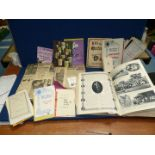 A Scrap Book and contents including The Great War, 100 Views of Oxford,