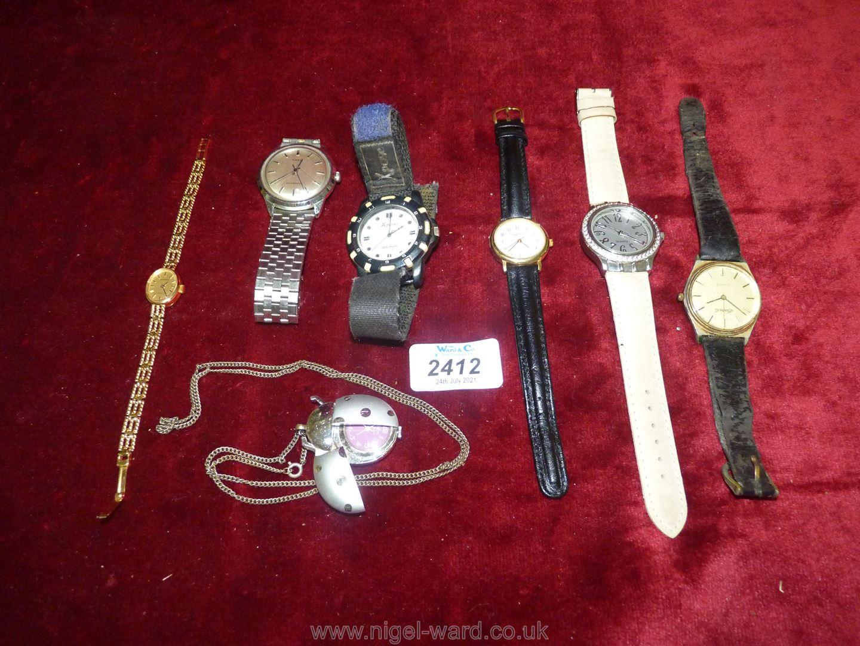 A small quantity of watches including Timex, Imado, Pieve Nicol etc.
